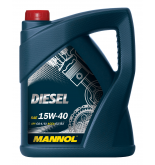 MANNOL DIESEL 15W-40 двигателно масло за дизелови двигатели 5 литра