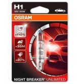 Крушка за фар Osram H1 Night Breaker Unlimited 12v, 55w 1бр.